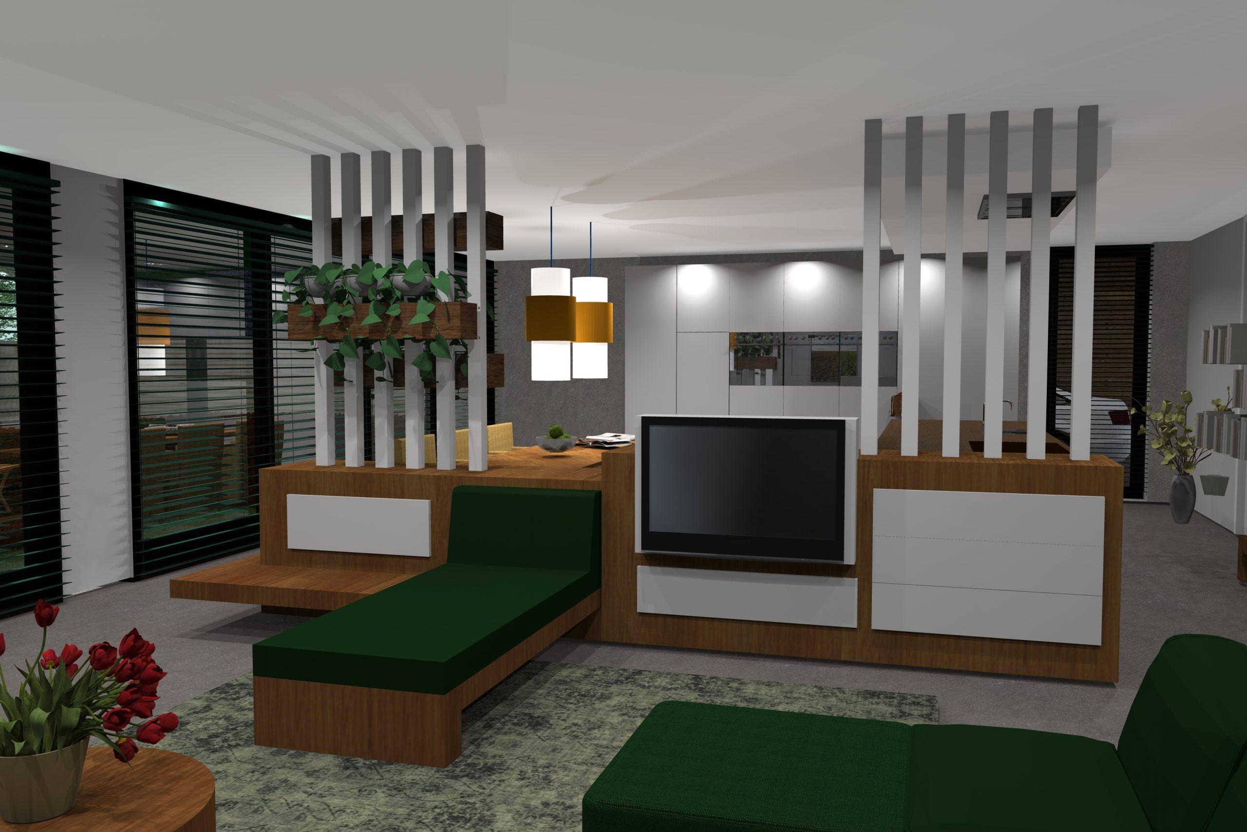 3D-ontwerp interieur