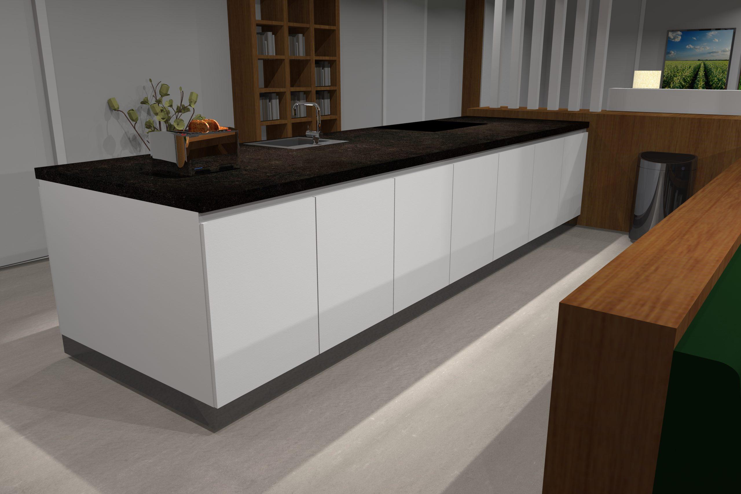 3D-ontwerp keuken